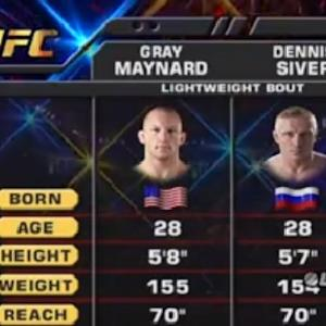 TUF 18 Finale Free Fight: Maynard vs. Siver