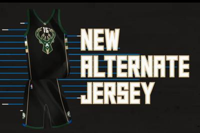 Bucks unveil HUGE DEER jerseys and first-ever alternate court