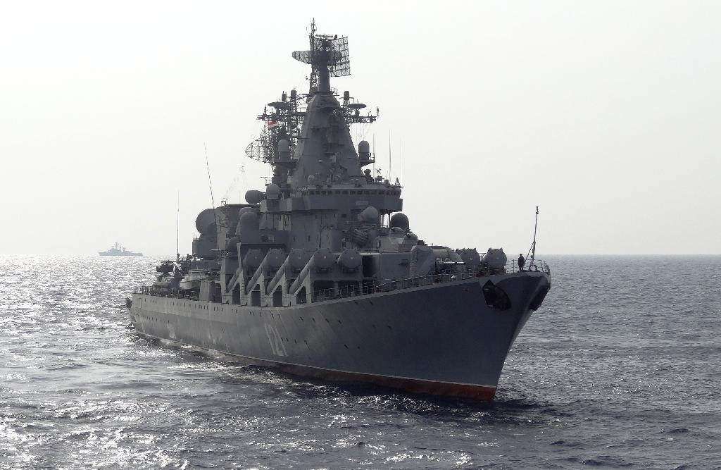 Russia sends brand new cruise missile ship to Syria: report