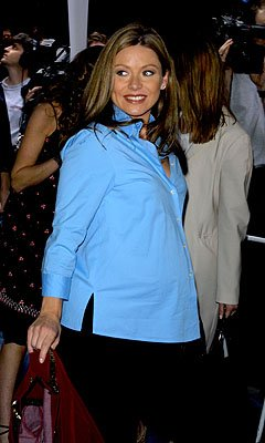 Premiere: Kelly Ripa at the New York premiere of Disney's Atlantis: The Lost Empire - 6/6/2001