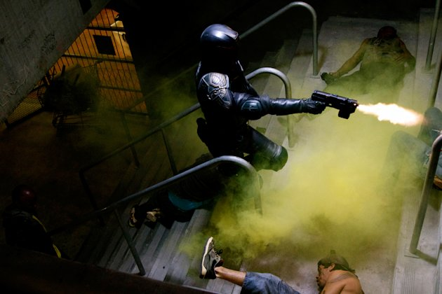 Dredd Stills