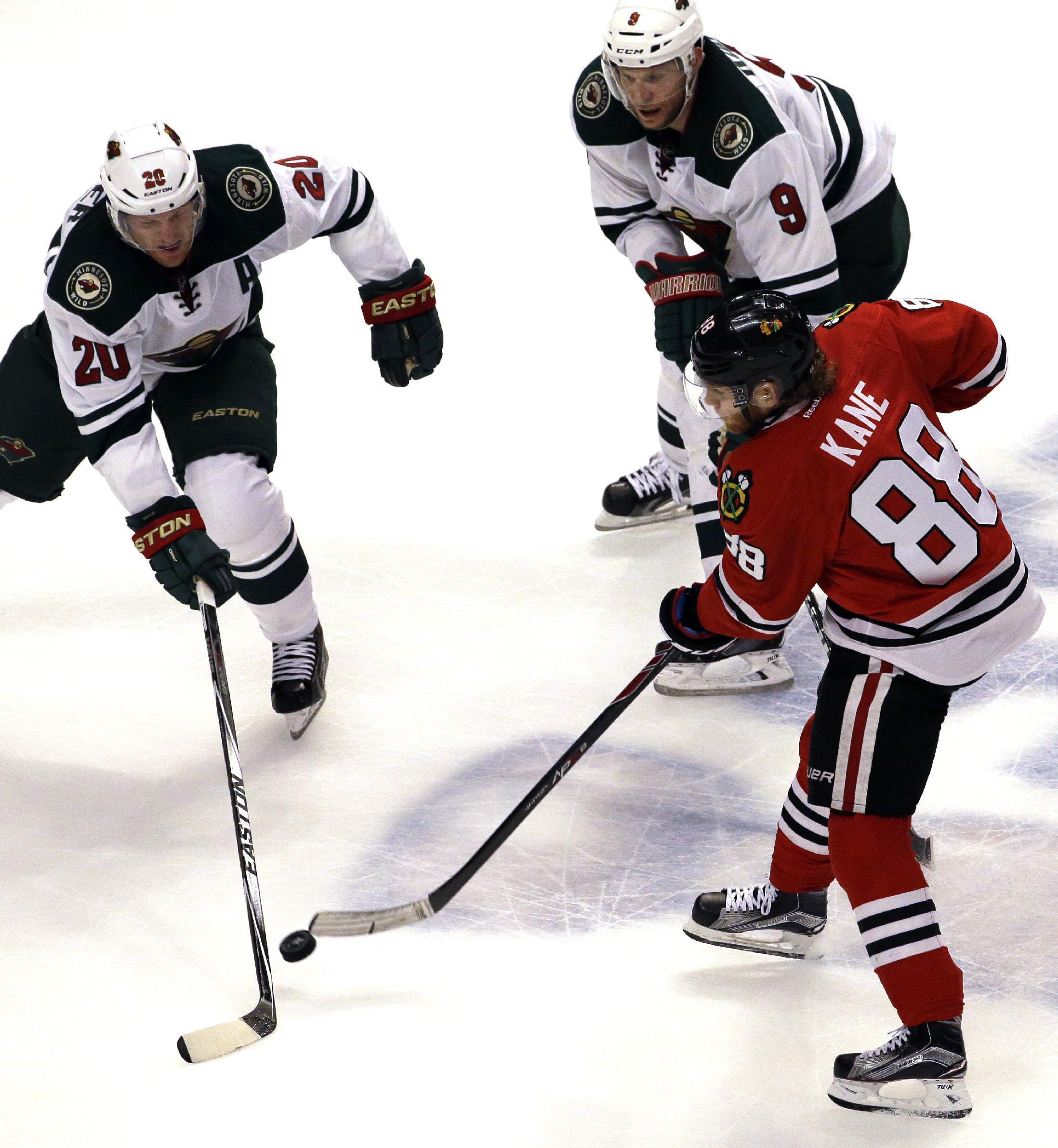 Kane, Crawford settle back into form for surging Blackhawks