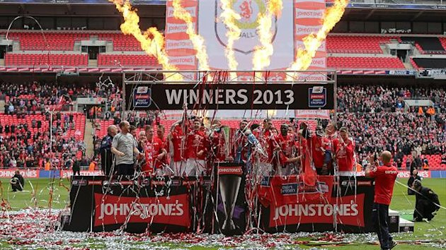 Crewe won at Wembley for the second successive season
