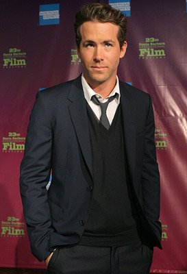 Ryan Reynolds at the Santa Barbara Film Festival premiere of Universal Pictures' Definitely, Maybe – 01/24/2008 Photo: Rebecca Sapp, WireImage.com