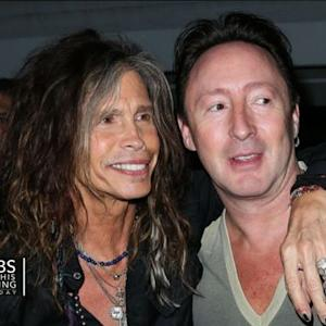 Julian Lennon on famous songwriting partner