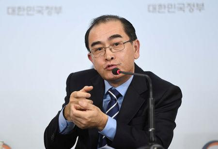 Elite North Korean defector says more diplomats waiting to defect to Seoul: Yonhap
