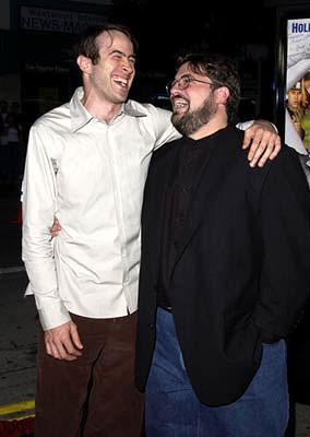 Premiere: Jason Lee and Kevin Smith at the Westwood premiere of Dimension's Jay and Silent Bob Strike Back - 8/15/2001