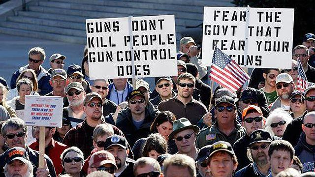 House Republicans vow to defend Second Amendment