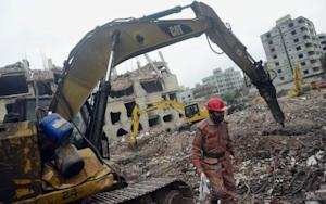Woman Maybe Found Alive 17 Days After Bangladesh Building Collapse