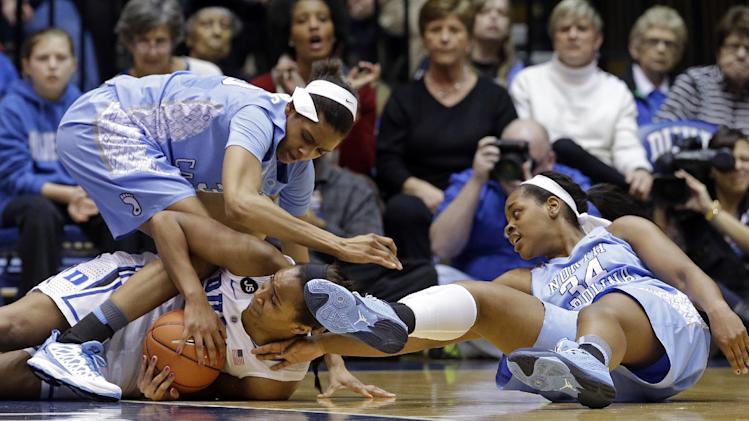 DeShields leads No. 17 UNC past No. 3 Duke 89-78