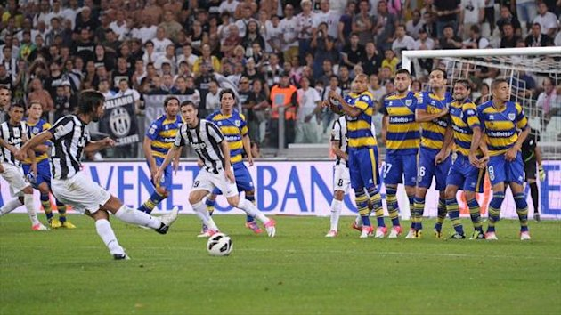Serie A 2012/13 Juventus-Parma Pirlo - AP/LaPresse