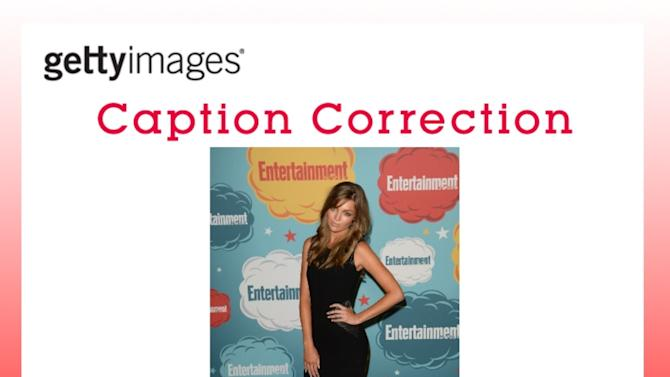 CAPTION CORRECTION: Entertainment Weekly's Annual Comic-Con Celebration - Arrivals