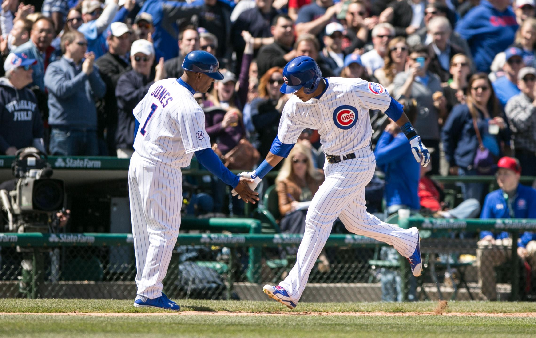 Addison Russell hits first home run in Cubs 1-0 win, joins rare company