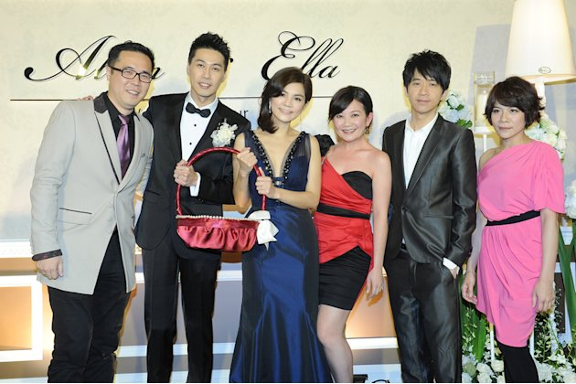 From right: Malaysian singers Melody Chiang, Guang Liang and Fish Leong