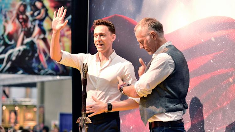 "Marvel's ""Thor: The Dark World"" Autograph Signing - Comic-Con International 2013"