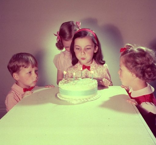 Happy birthday to you! -- Getty Images