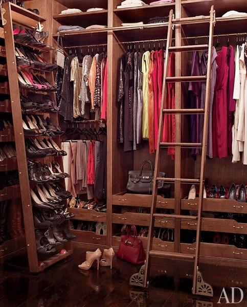 Peek into the closets of the stars brooke shields