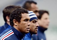 France rugby captain Thierry Dusautoir limbers up during a training session on February 8, 2013 at the Stade de France in Paris. France will be looking to get back on a winning track on Saturday and inflict a ninth successive defeat on Wales in their Six Nations clash
