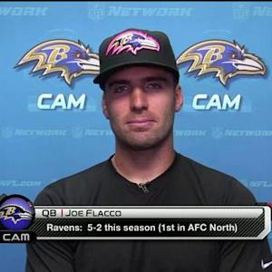 Friday spotlight: Baltimore Ravens quarterback Joe Flacco