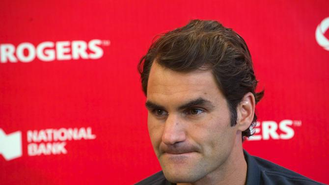 A 'laid-back' Roger Federer tunes up for US Open