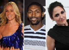 Kristin Cavallari, Ron Artest, Ricki Lake -- Getty Images