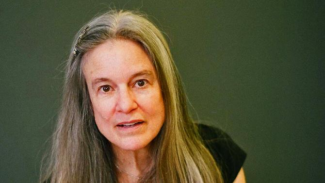 """This undated photo provided by Afred A. Knopf shows Sharon Olds, who was awarded the 2013 Pulitzer Prize for Poetry on Monday, April 15, 2013, for her work """"Stag's Leap."""" (AP Photo/Alfred A. Knopf, Michael Lionstar)"""