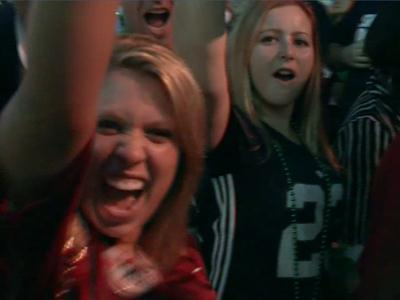 Raw: Irish, Tide Fans Pumped Up Before BCS Clash