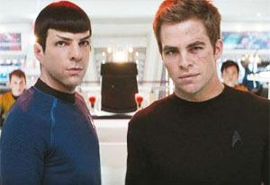 Zachary Quinto and Chris Pine | Photo Credits: Paramount Pictures