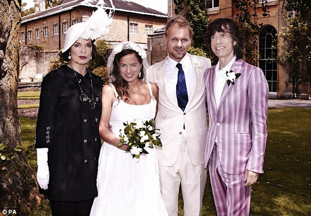 First Look At Jade Jagger's Rock 'n' Roll Wedding Ceremony PLUS Her Self-Designed Wedding Dress!