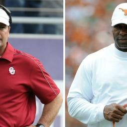 CI Shazam: Bob Stoops Opens Up About Charlie Strong