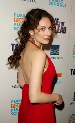 Premiere: Laura Benanti at the NY premiere of New Line Cinema's Take the Lead - 4/4/2006 Laura Benanti