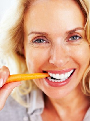 Can munching carrots really sharpen your vision?