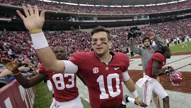 McCarron thinking win, not Heisman in Iron Bowl