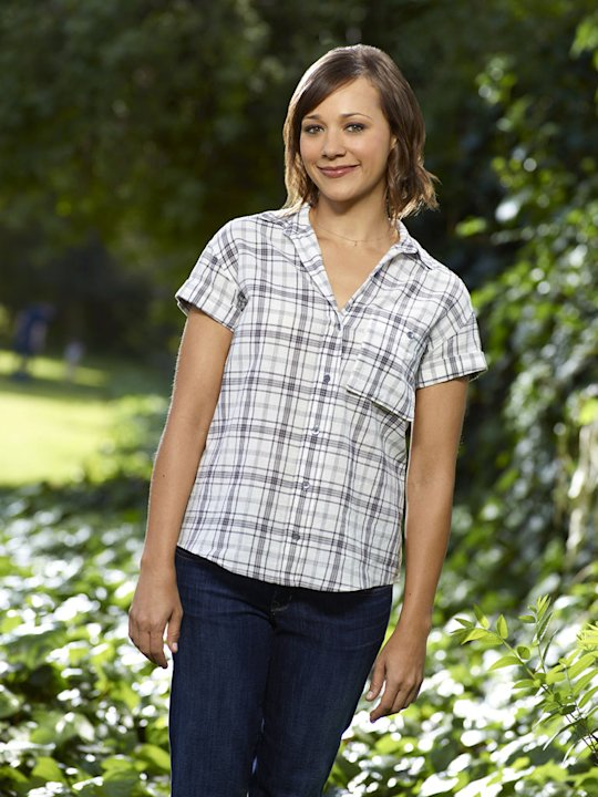 "Rashida Jones stars as Ann Perkins in ""Parks & Recreation."""