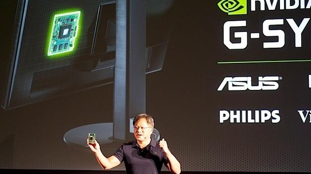 Nvidia G-Sync puts processors inside your PC monitor to reduce stutter and lag