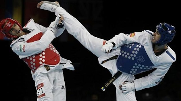 Nico Garca Taekwondo juegos olmpicos londres 2012
