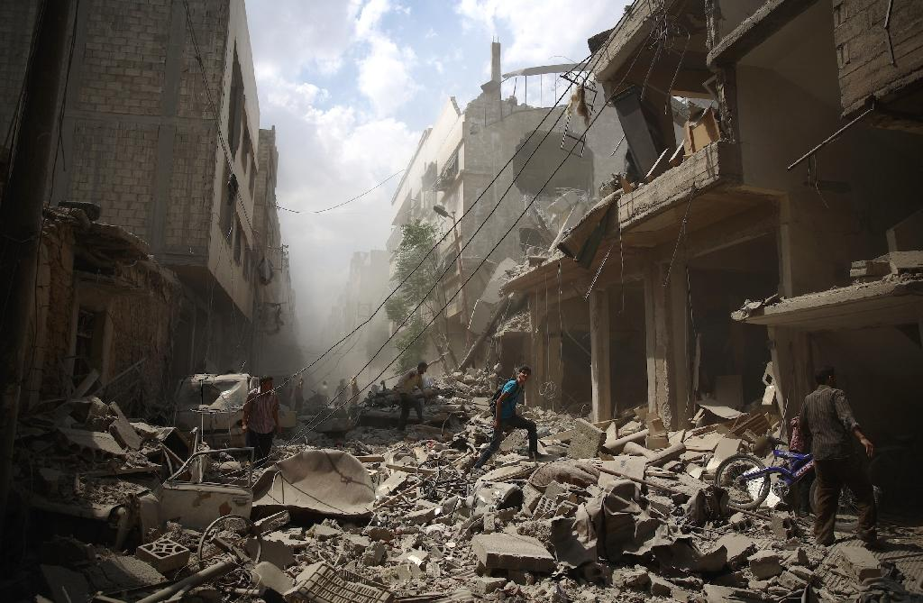 EU and Iran discuss ways to end war in Syria