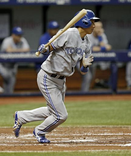 Tolleson's 2-run single helps Blue Jays beat Rays