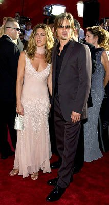 Jennifer Aniston and Brad Pitt Emmy Awards - 9/22/2002