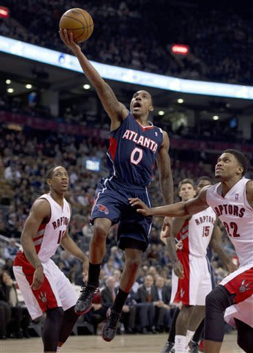 Hawks beat Raptors 107-88 to clinch playoff berth
