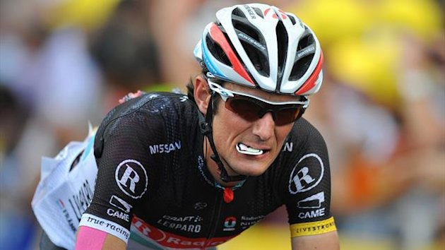 CYCLING Tour de France 2012 - Frank Schleck