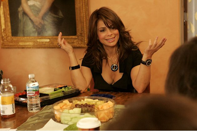 Paula Abdul stars in her reality show Hey Paula. 