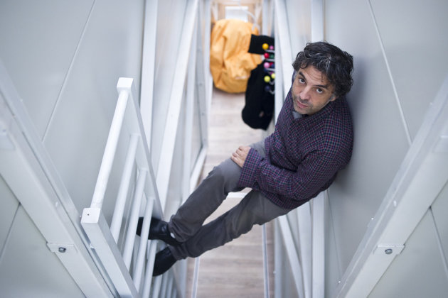 World's thinnest house Keret ladder width