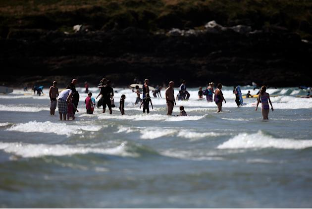 Surfers Descend On Newquay For The Annual Boardmasters Festival
