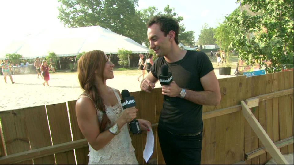 Backstage with Fuse (Bonnaroo 2011)