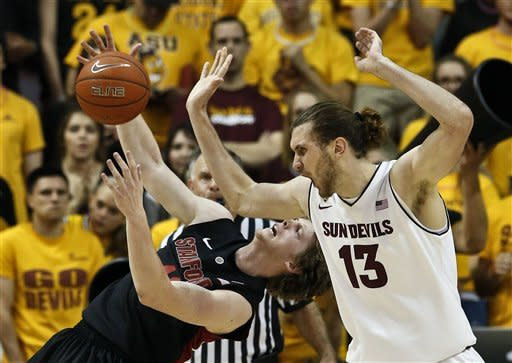 Powell, Stanford hold on to beat Arizona St. 62-59