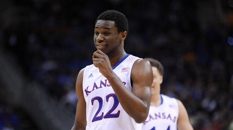 NCAA Basketball: Big 12 Conference Tournament-Kansas vs Oklahoma State