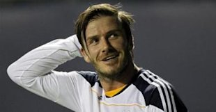 2010-11 MLS LA Galaxy David Beckham - 0
