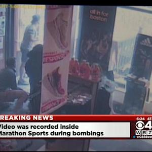Video Shows Chaos Inside Marathon Sports After Bombing