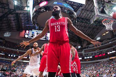 James Harden drops 42 points and a dagger on the Mavericks